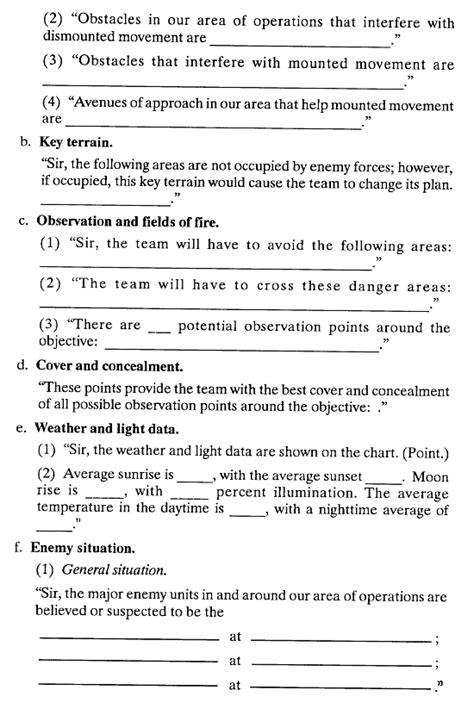 debriefing report template fm 7 93 appendix i