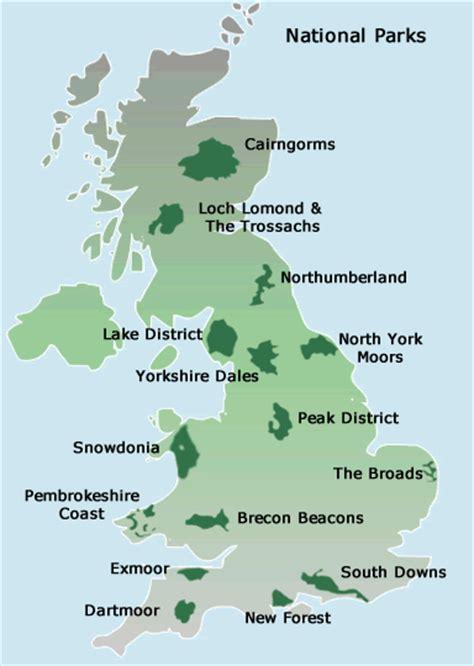 map uk national parks map of uk national parks
