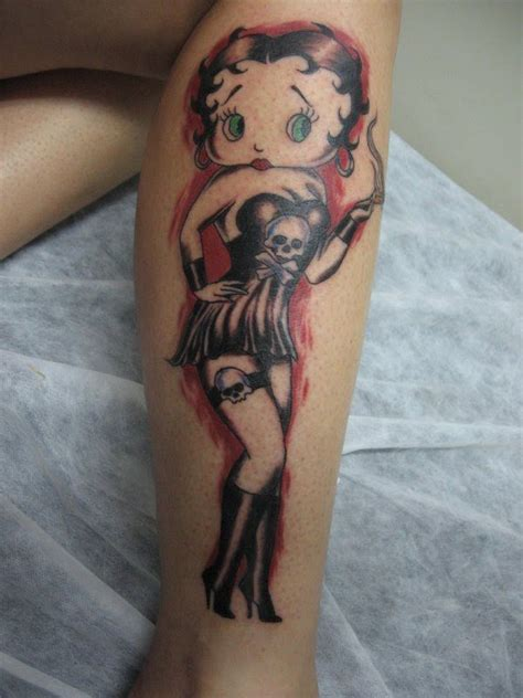tattoopictures tv betty boop tattoos knight tattoo tattoo betty boop