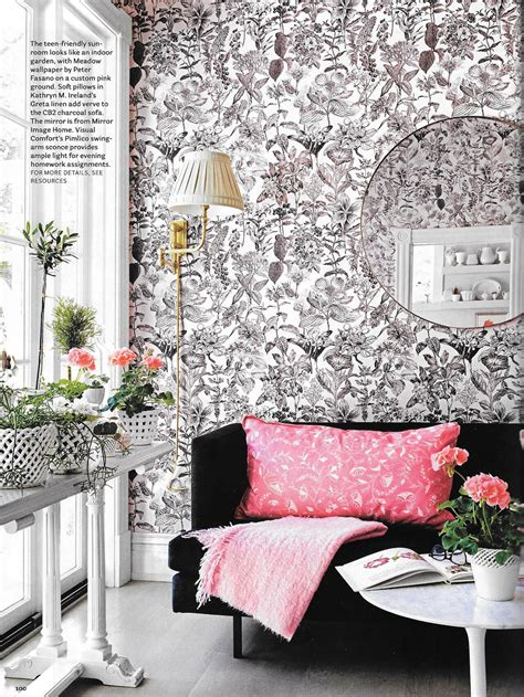housebeautiful com pink perfection suellen gregory for house beautiful york avenue