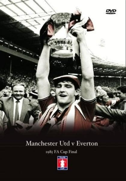 Dvd 1985 Fa Cup Manchester United V Everton Toko Sepakbola 1985 fa cup manchester united v everton dvd zavvi nl