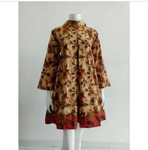 Atasan Batik Dobi Asli Palembang Murah baju kemeja cewek indobeta