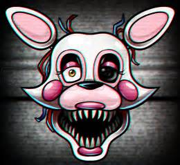 How to draw mangle from five nights at freddys 2 1 000000021494 5 png
