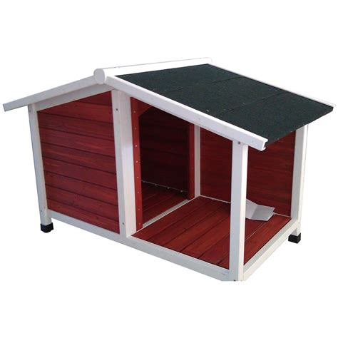 hunting dog houses advantek 174 the ranch house dog house 300957 kennels beds at sportsman s guide