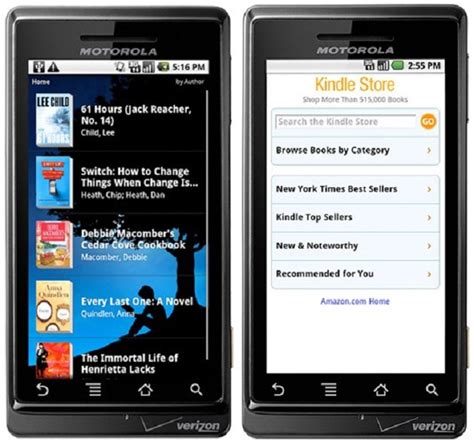amazon kindle app amazon kindle for android adds voice search more