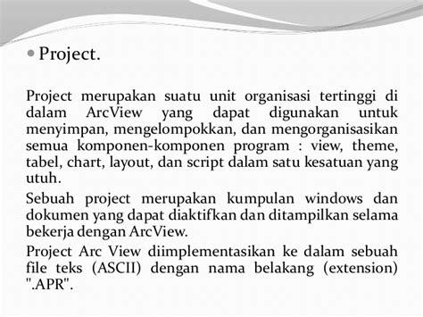 fungsi layout pada arcview presentasi sistem pengolahan data spasial dengan arc view