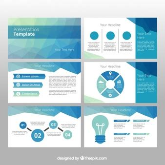 powerpoint template vectors photos and psd files free