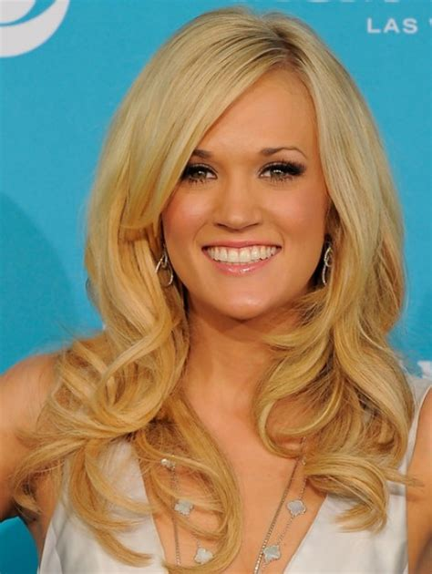 haircuts blonde long carrie underwood long hairstyles popular haircuts