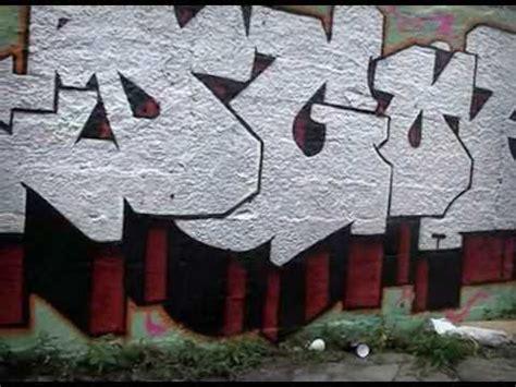 st graffiti  grafite letras mural attack throw