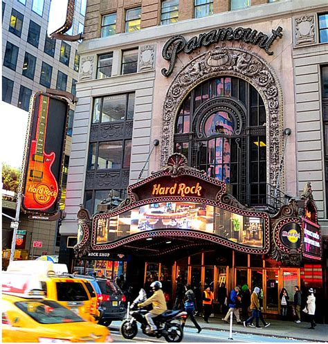 Square Rok rock cafe new york