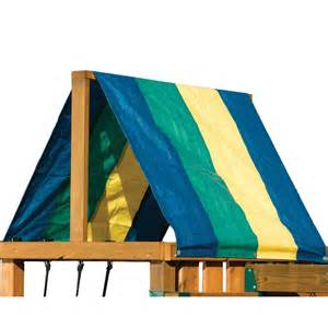 Replacement Canopy For Playset by Swing N Slide Replacement Multi Color Canopy Roof Lowe S