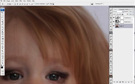 smudge painting photoshop tutorial ver 3 trik smudge painting bagian rambut dengan photoshop