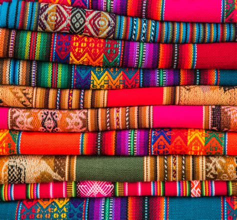 Handmade Jigsaw Puzzles - andean fabrics jigsaw puzzle in handmade puzzles on