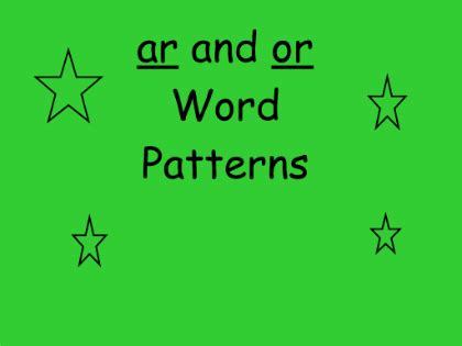 ar pattern words smart exchange usa ar and or word patterns