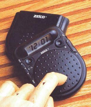 thumper traveler lcd alarm clock bda designs