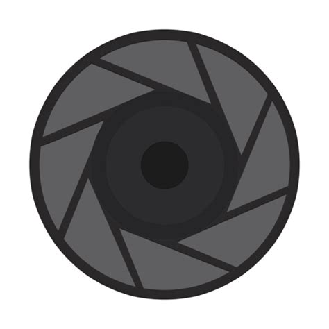 aperture vector icons    svg png format