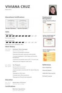 assistant store manager resume samples best resume format