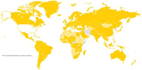 gsm coverage map usa sprint global roaming