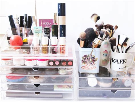 Muji Makeup Drawers by Muji Clear Makeup Storage 1 We Were Raised By Wolves