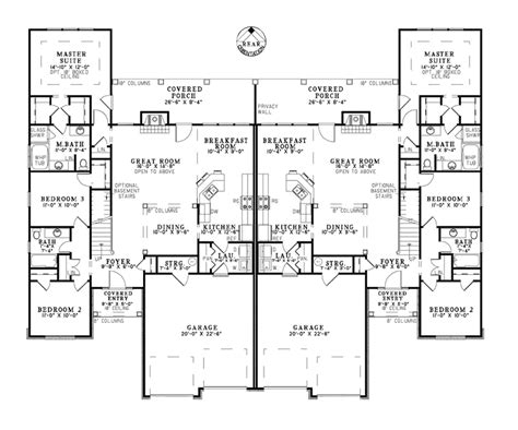 multifamily house plans davis rustic duplex plan 055d 0866 house plans and more