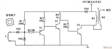 the car electric igniter 2 automotive circuit