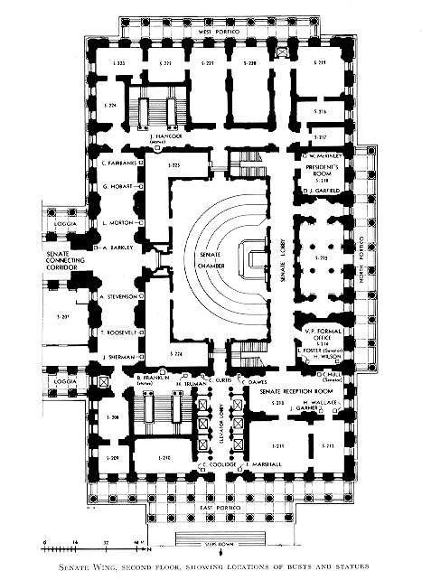 us senate floor plan xroads virginia edu cap floorplans