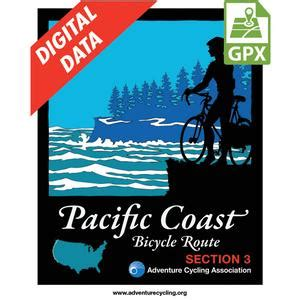 Coast Section by Adventure Cycling Association Pacific Coast Route Section