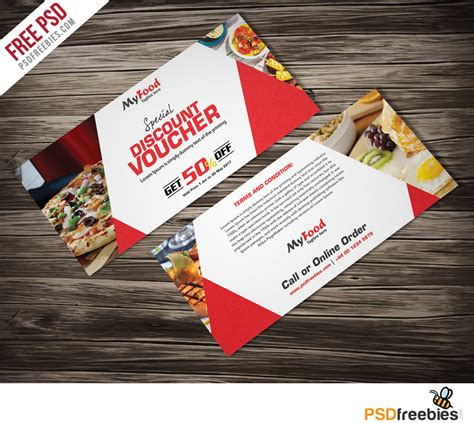 gift card template free psd clean and modern gift voucher template psd psdfreebies