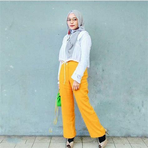18  Model Baju Muslim 2018 Edisi Terbaru Gaya Casual