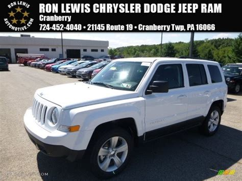 white jeep patriot 2017 2017 bright white jeep patriot latitude 4x4 115350262