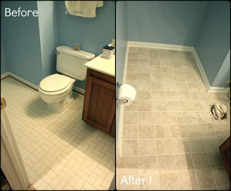 painting old tile in bathroom simply diy 2 bathroom floor part 3 done