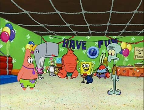 spongebob house party spongebuddy mania events