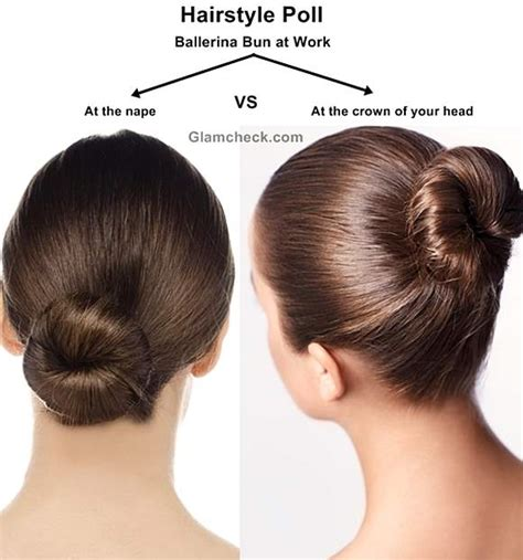 hairstyle ideas for office work hairstyle poll two faces of the ballerina bun