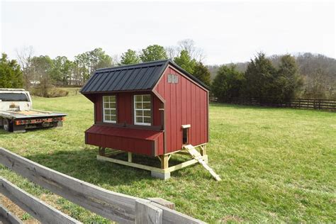 run in shed and chicken coop designs in ky tn