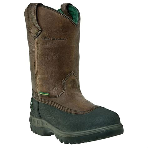 wellington work boots for s deere 174 11 quot wct waterproof wellington work boots