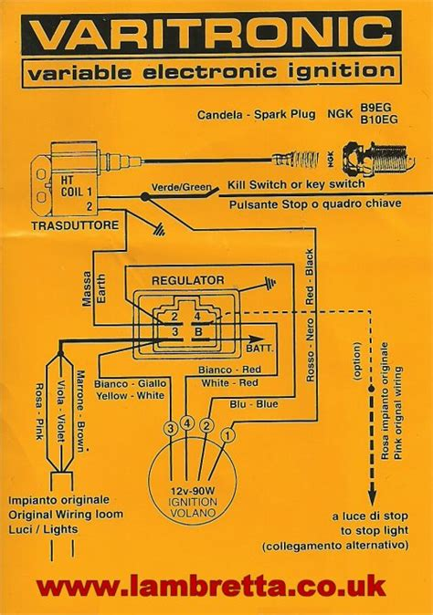 lambretta ac wiring diagram gallery wiring diagram