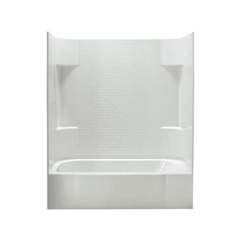 vikrell bathtub shop sterling accord 60 25 in white vikrell alcove bathtub