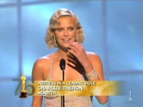 film oscar charlize theron charlize theron winning best actress for quot monster quot youtube