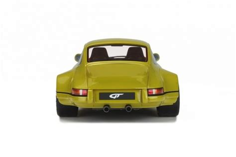 rwb porsche yellow gt spirit scale 1 18 porsche 911 930 turbo rwb rauh