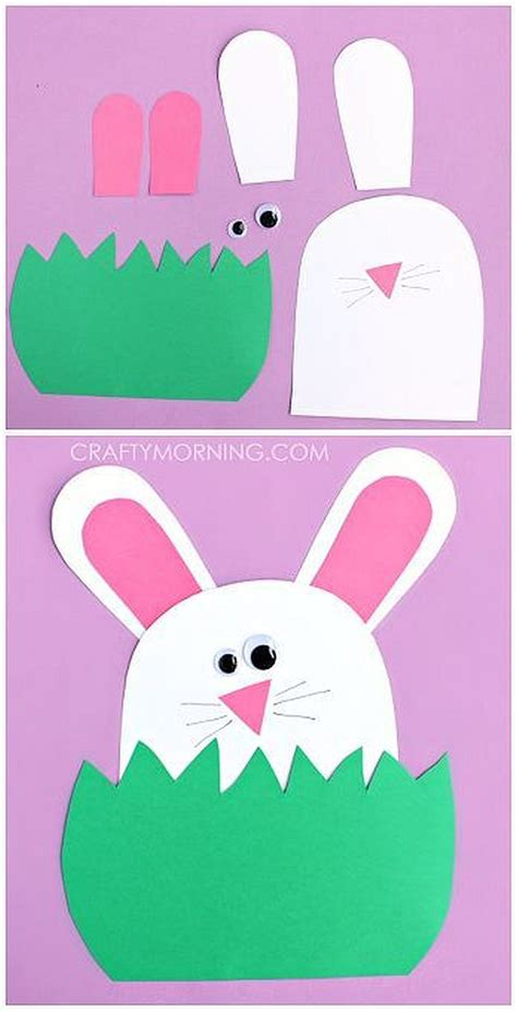 Easter Paper Craft Ideas - 12 easter crafts for toddlers diy ready