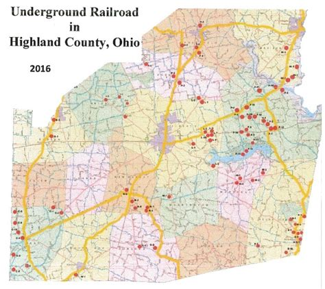 map of underground in ohio underground railroad map usa maps us country maps