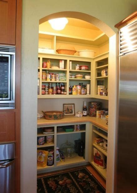 open pantry with counters home sweet home