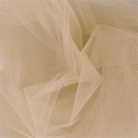 Discount Designer Home Decor 108 wide nylon tulle beige discount designer fabric