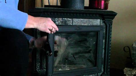 Cleaning Wood Burner Glass Door How To Clean Your Wood Stove Fireplace Glass