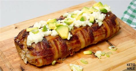 30345 bacon cheddar meatloaf jpg bacon wrapped cheese stuffed meatloaf low carb recipe