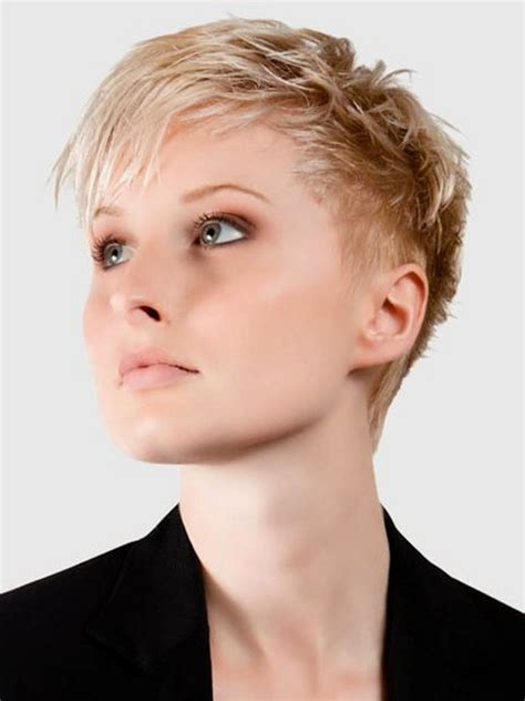pictures of different haircuts and styles short blonde hairstyles very short hairstyles for women