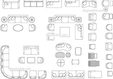 Recliner Chair Autocad Block – 2d office furniture cad blocks, 2d ...