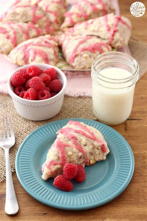 Scones Sensibility raspberry white chocolate scones recipe glaze chocolate scones and sweet