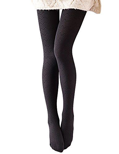 cotton patterned tights vero monte 1 pair women s modal cotton opaque knitted