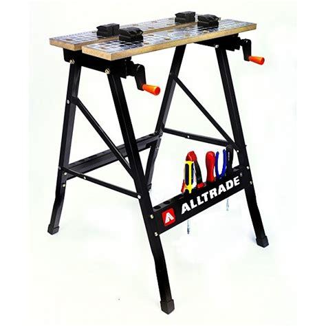 folding tool bench buy the powerbuilt alltrade tools 600010 folding workbench